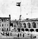 Fort Sumter tras ser tomado por las tropas sudistas