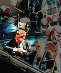 John F. Kennedy en Dallas, poco antes de ser asesinado