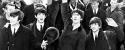 Los Beatles llegando a EEUU por primera vez el 7 de febrero de 1964
