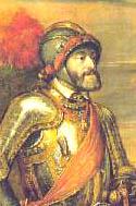 Carlos I de España y V de Alemania en la batalla de Mühlberg, por Tiziano Vecellio (Museo del Prado, Madrid)