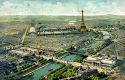 Panorámica de la Exposición Universal de París de 1900